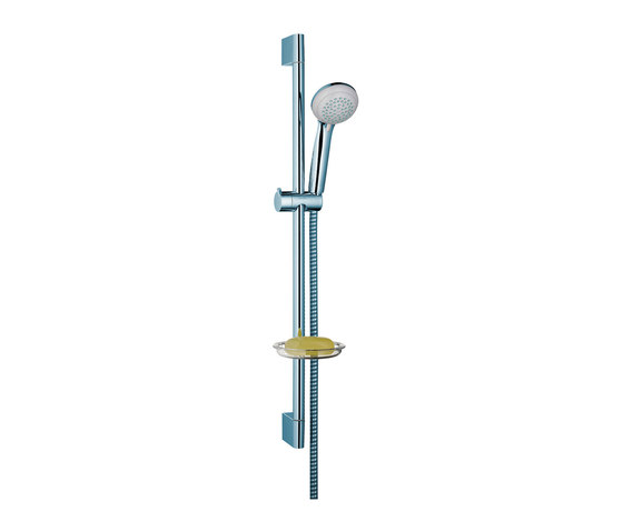 hansgrohe Crometta 85 Variojet hand shower/ Unica'Crometta wall bar 0.65 m set by Hansgrohe | Shower controls
