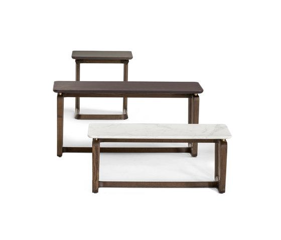 Fidelio Side tables de Poltrona Frau | Mesas de centro