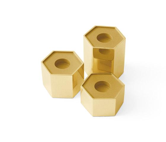 Candle Holders | Hexagonal de Gallotti&Radice | Candelabros