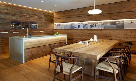 Concrete Kitchen | Design Example by Dade Design AG concrete works Beton | Concrete panels