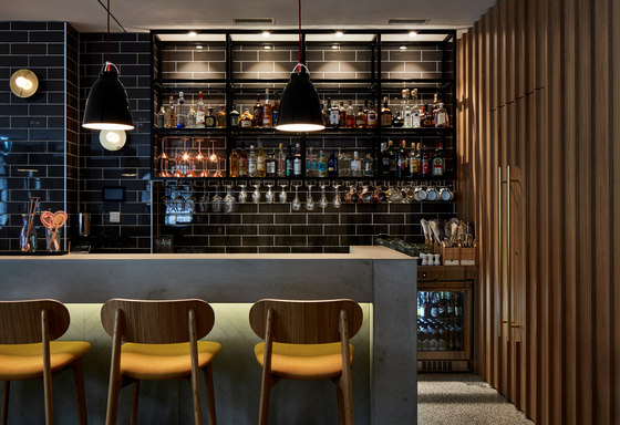 dade Hotel by Dade Design AG concrete works Beton | Counters