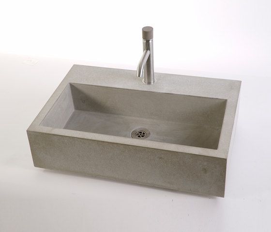 dade CASSA 60m concrete sink by Dade Design AG concrete works Beton   Wash basins
