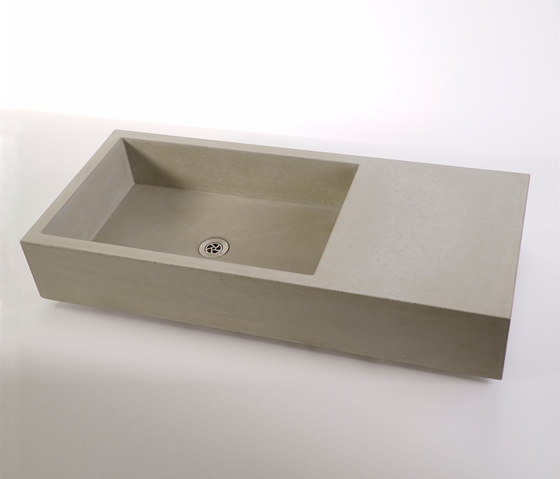 dade ELEMENT 90/60o concrete sink by Dade Design AG concrete works Beton | Wash basins