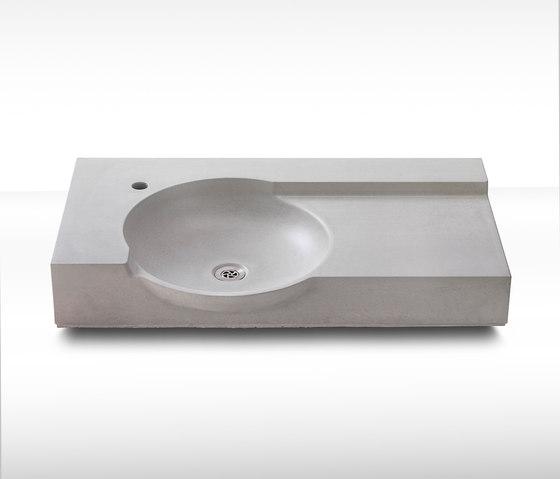 dade THALASSA concrete sink by Dade Design AG concrete works Beton | Wash basins