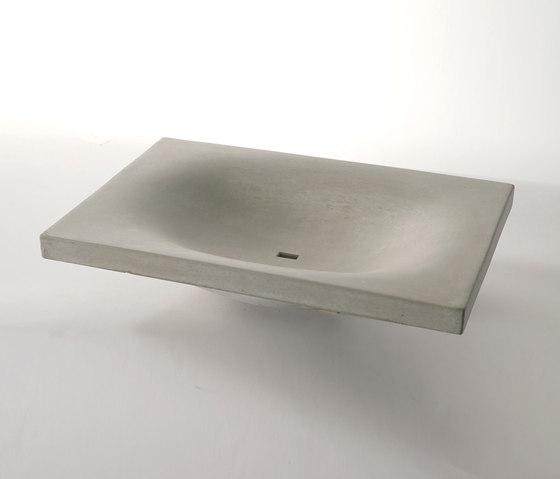 dade WAVE 60 concrete sink by Dade Design AG concrete works Beton   Wash basins