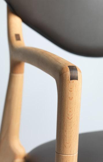 Salon Chair - Beech/Oil de True North Designs   Chaises