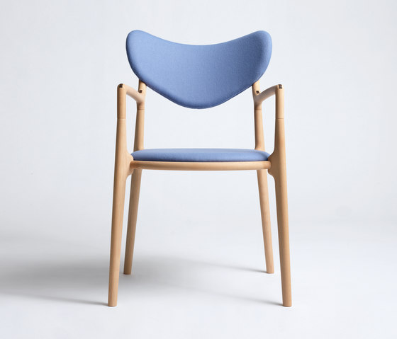 Salon Chair - Beech/Oil by True North Designs | Chairs