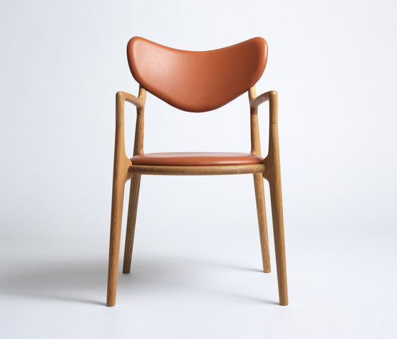 Salon Chair - Oak / Oil di True North Designs | Sedie