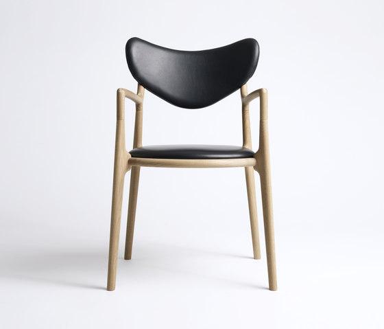 Salon Chair - Oak / Soap de True North Designs | Sillas