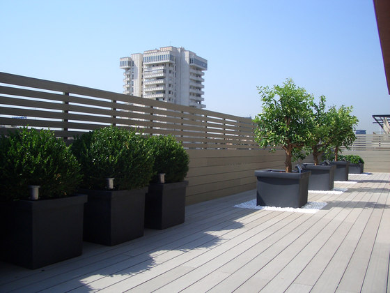 Elegance | Smooth Decking Board - Iroise grey by Silvadec | Flooring