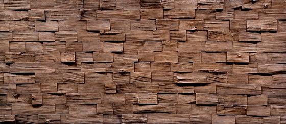 Wood Barbados Cobriza di Artstone | Piallacci pareti