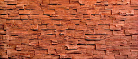 Wood Barbados Carmin by Artstone | Wall veneers