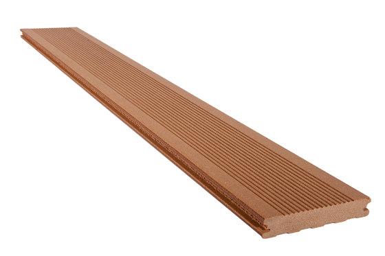 Elegance Grooved Decking Board Colorado Brown