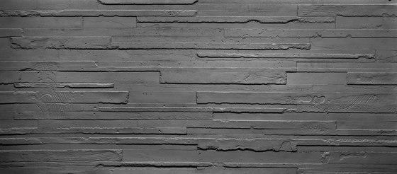 Hormigon 3D Anthracite de Artstone | Chapas