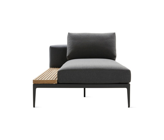 Grid Sofa with Chaise de Design Within Reach | Chaise longues