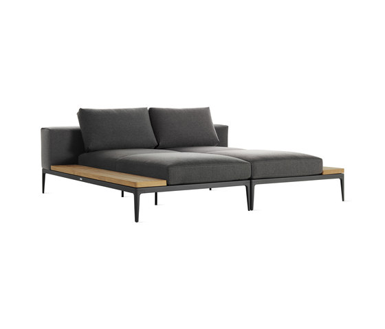 Grid Double Chaise de Design Within Reach | Chaise longues