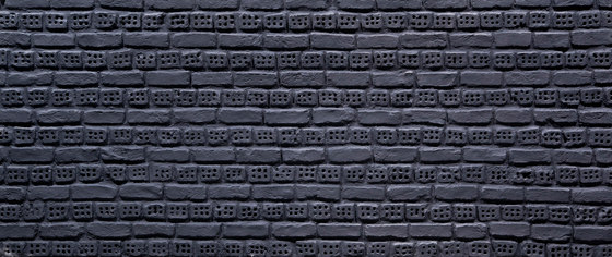 Ladrillo Perforado Anthracite di Artstone | Piallacci pareti
