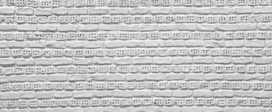 Ladrillo Perforado Blanca di Artstone | Piallacci pareti