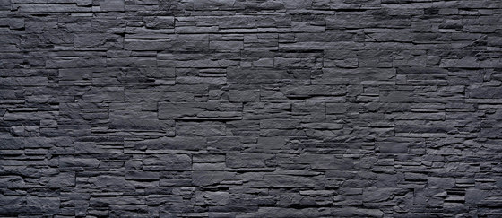 Lascas Negra di Artstone | Piallacci pareti
