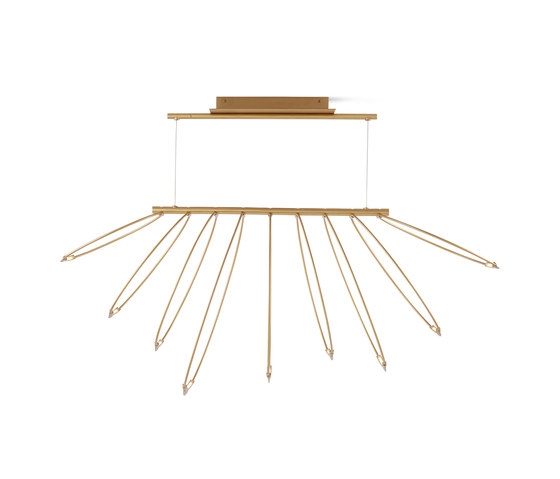 Rings LED Chandelier de Design Within Reach | Suspensions