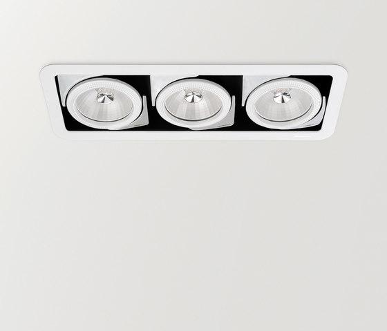 Look 3 QR-111 de ARKOSLIGHT | Plafonniers encastrés