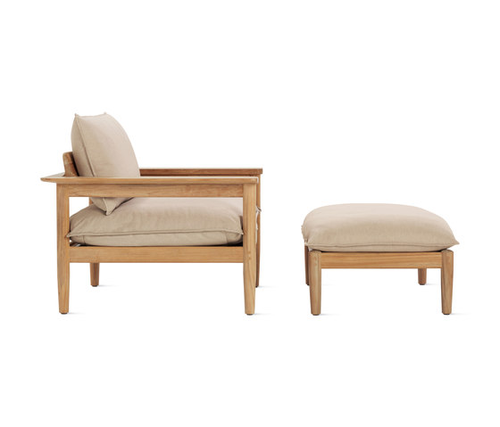 Terassi Lounge Chair & Ottoman by Design Within Reach | Armchairs