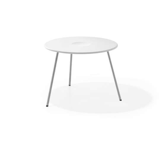 Air Collection   Table Round 56 High de Viteo   Tables d'appoint