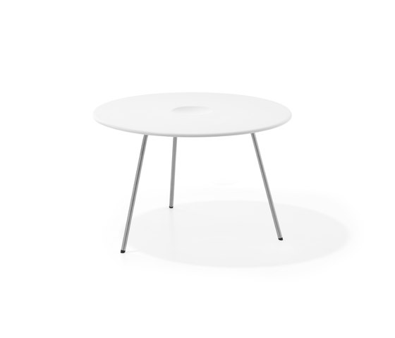 Air Collection | Table Round 70 High de Viteo | Tables basses