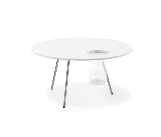 Air Collection | Table Round 70 Low de Viteo | Tables basses