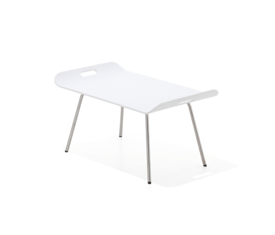 Air Collection | Table Square 70 Low de Viteo | Tables basses
