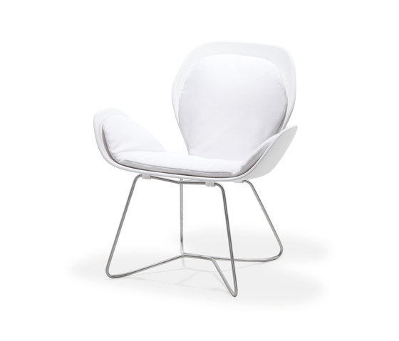 Dove Collection | Lounge Chair by Viteo | Chairs