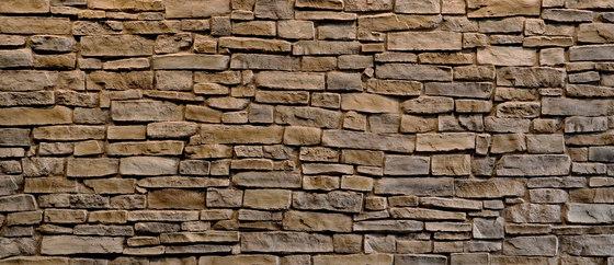 Sillarejo Cobriza di Artstone | Piallacci pareti
