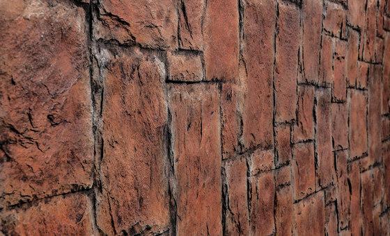 Laberinto Carmin by Artstone | Wall veneers