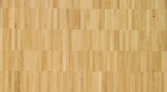 Pavimento massello Rovere Parallelo 12 di Bauwerk Parkett | Pavimenti legno