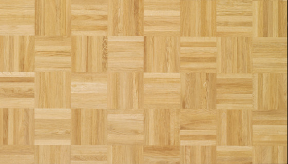 Solid parquet Oak Mosaic 12 by Bauwerk Parkett | Wood flooring