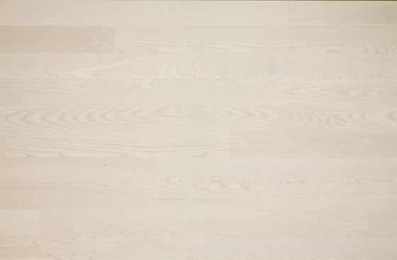 Cleverpark Ash Snow 13 by Bauwerk Parkett   Wood flooring