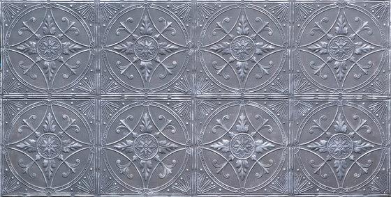Broderie Fonce Argent di Artstone   Piallacci pareti
