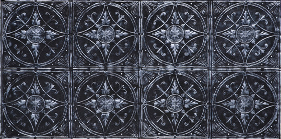 Broderie Noir Argent by Artstone | Wall veneers