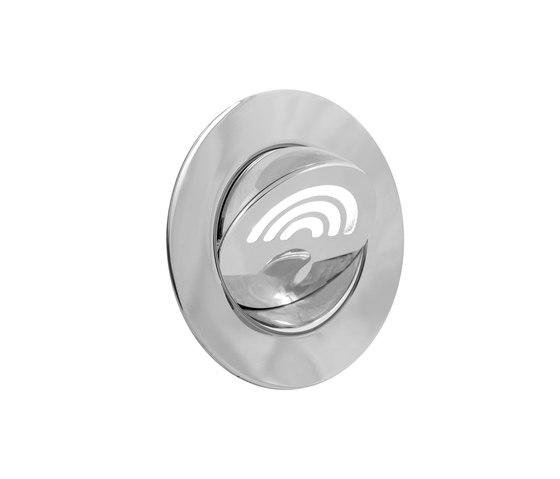 Kona Light with Integral Bezel, nickel plated di Original BTC | Lampade parete incasso