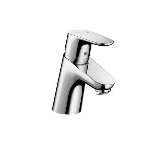 hansgrohe Focus Single lever basin mixer 70 Eco cartridge with pop-up waste set by Hansgrohe | Wash basin taps