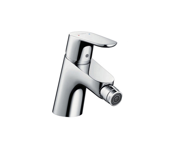 hansgrohe Focus Single lever bidet mixer with push-open waste set by Hansgrohe | Bidet taps