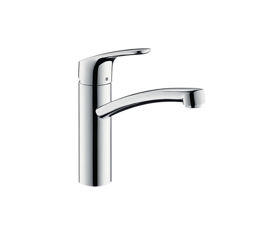 hansgrohe Focus Single lever kitchen mixer 160 for vented hot water cylinders by Hansgrohe | Kitchen taps