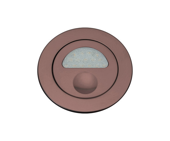 Zephyr Light with Integral Bezel, anodised bronze by Original BTC | Recessed wall lights