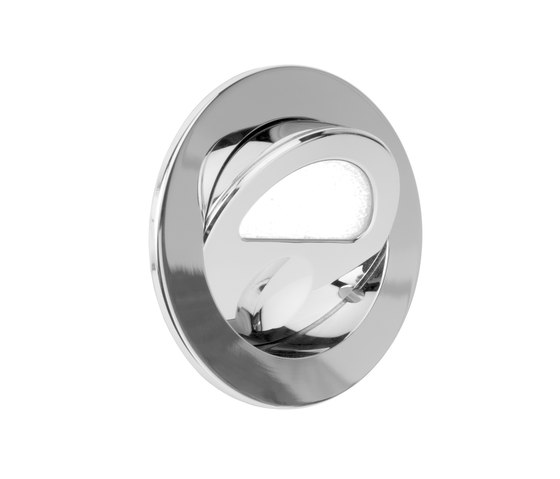 Zephyr Light with Integral Bezel, nickel plated de Original BTC | Appliques murales encastrées