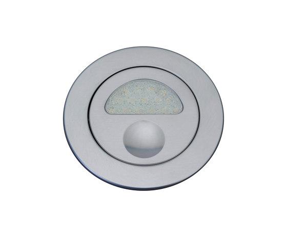 Zephyr Light with Integral Bezel, anodised titanium di Original BTC | Lampade parete incasso
