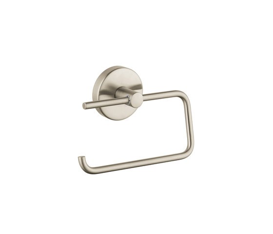 hansgrohe Logis Roll holder without cover by Hansgrohe | Paper roll holders