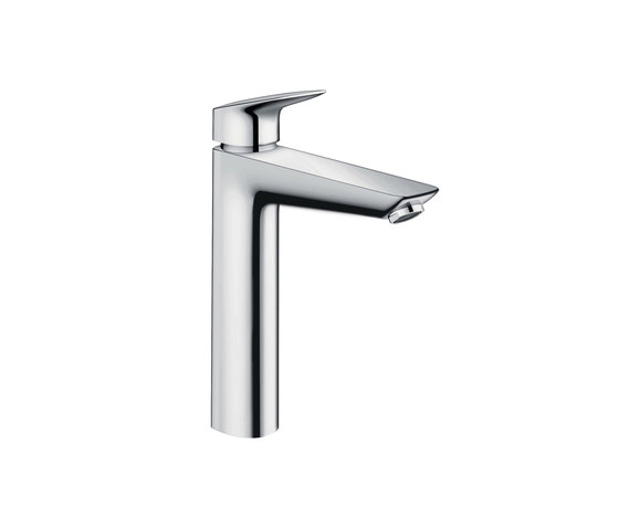 hansgrohe Logis Single lever basin mixer 190 without waste set by Hansgrohe | Wash basin taps