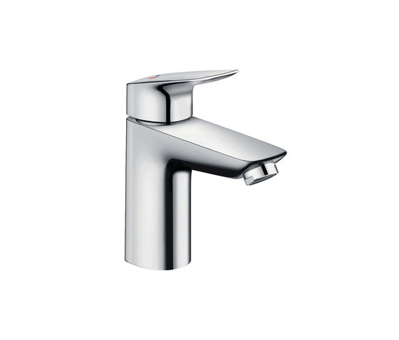 hansgrohe Logis Single lever basin mixer 100 CoolStart with pop-up waste set by Hansgrohe | Wash basin taps