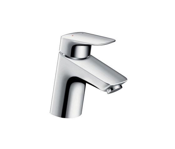 hansgrohe Logis Single lever basin mixer 70 with metal pop-up waste set by Hansgrohe | Wash basin taps