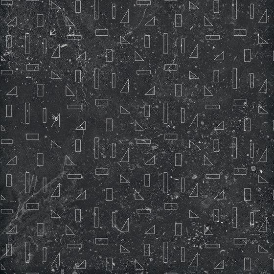 Pietre41 Outline Black B von 41zero42   Keramik Fliesen